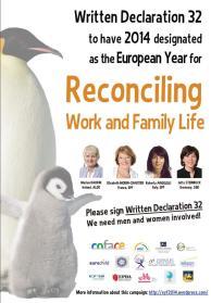 L'anno europeo della conciliazione famiglia lavoro
